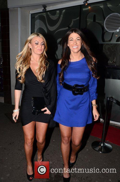 Billi Mucklow and Cara Kilbey Mark Wright's welcome...