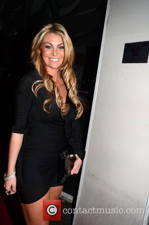 Billi Mucklow Mark Wright's welcome home party held...