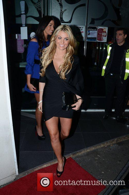 Cara Kilbey and Billi Mucklow Mark Wright's welcome...
