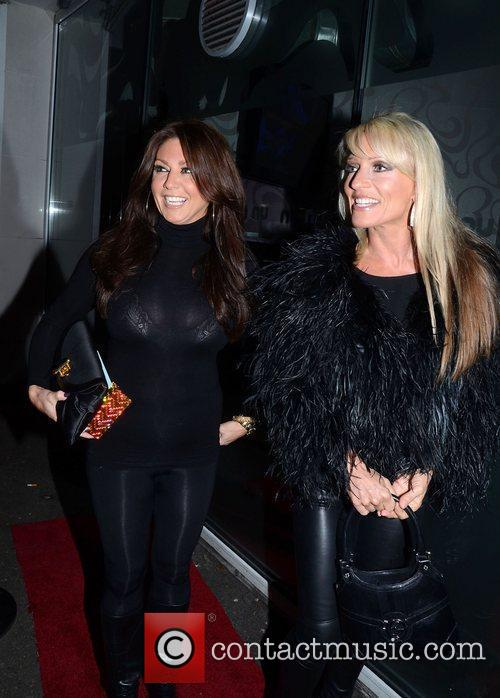 Dee Ivens  Mark Wright's welcome home party...