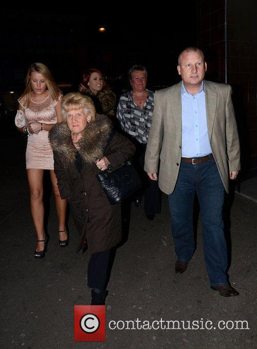 Nanny Pat  Mark Wright's welcome home party...