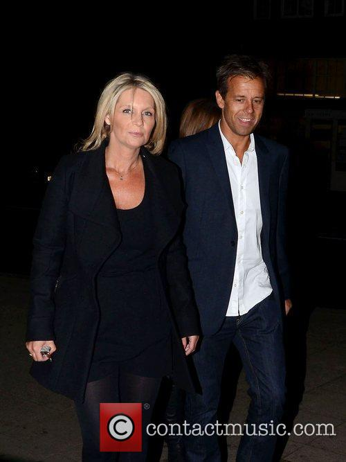 Pat Sharp  Mark Wright's welcome home party...