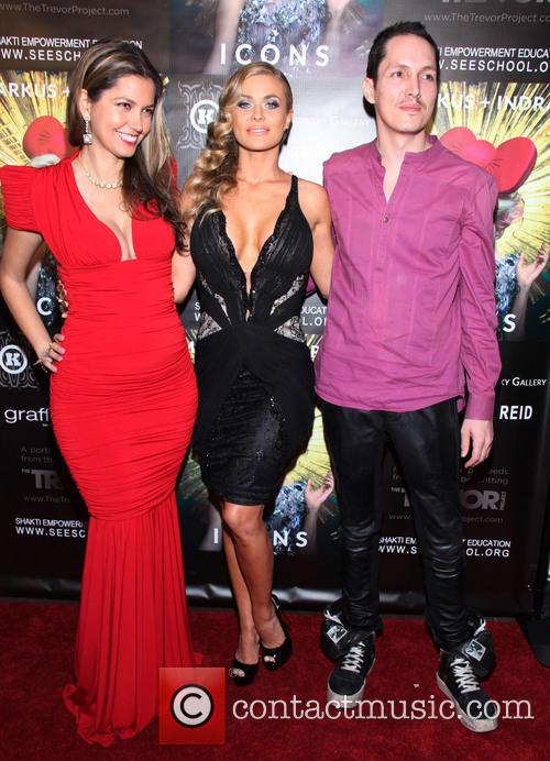 Indrani, Carmen Electra and Reid 2