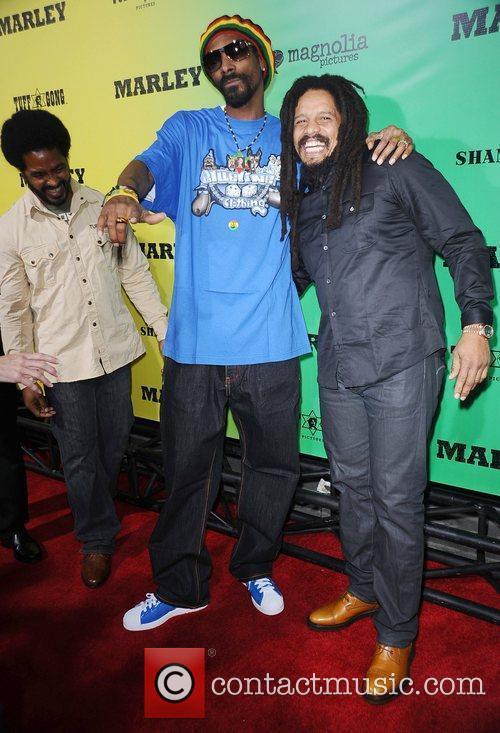 Snoop Dogg and Rohan Marley 2