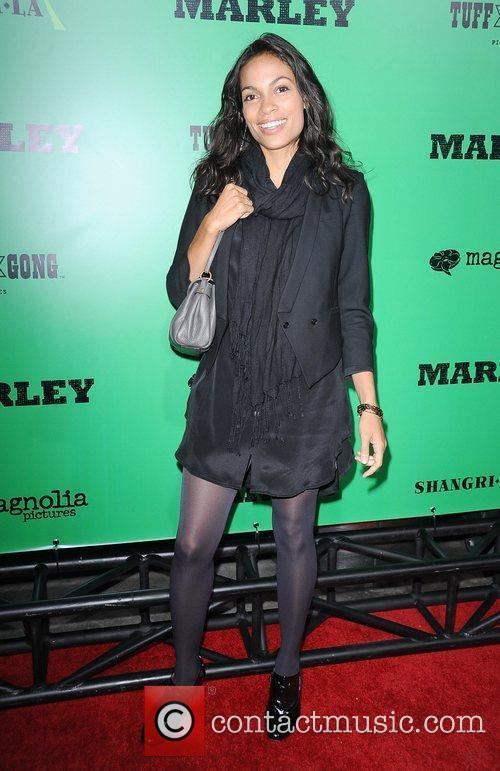 Rosario Dawson and Rohan Marley 1