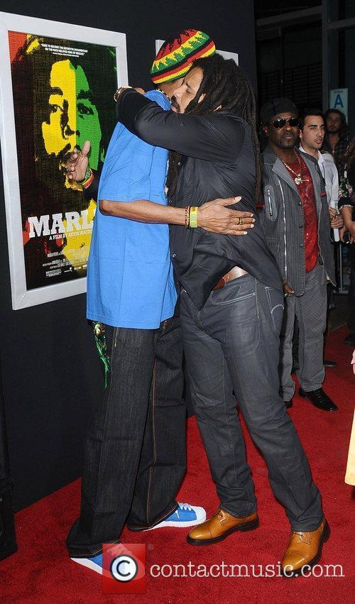 Snoop Dogg and Rohan Marley