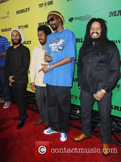 Los Angeles Premiere of Magnolia Picture's 'Marley' held...