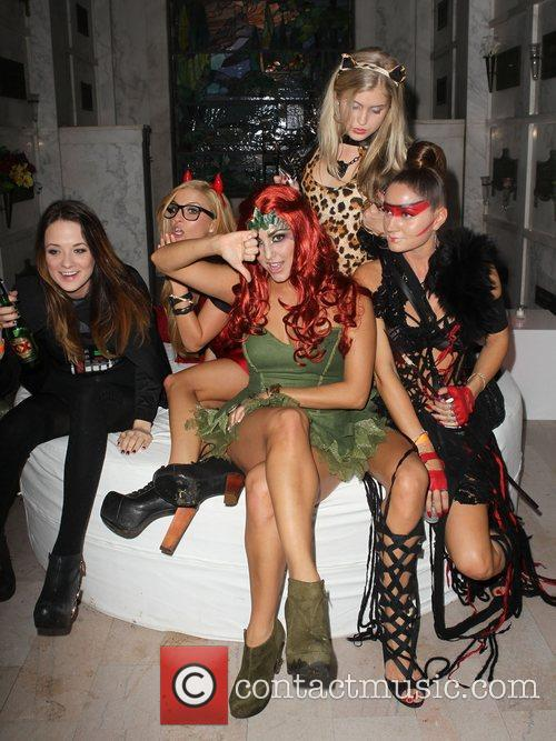Cassie Scerbo and Guests  Patron XO cafe...
