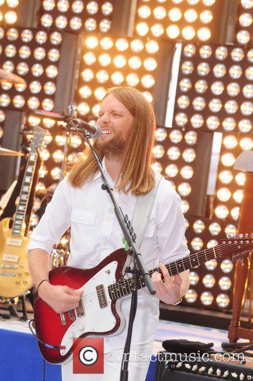 Maroon 5 perform live at Rockefeller Center as...
