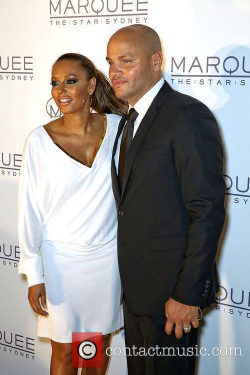 mel b and stephen belafonte at the 3809453