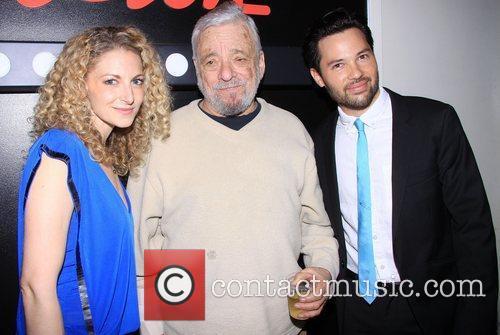 Lauren Molina, Stephen Sondheim and Jason Tam 3