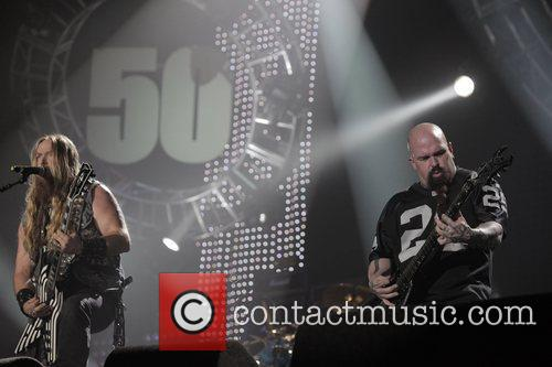 Zakk Wylde, Kerry King and Wembley Arena 6