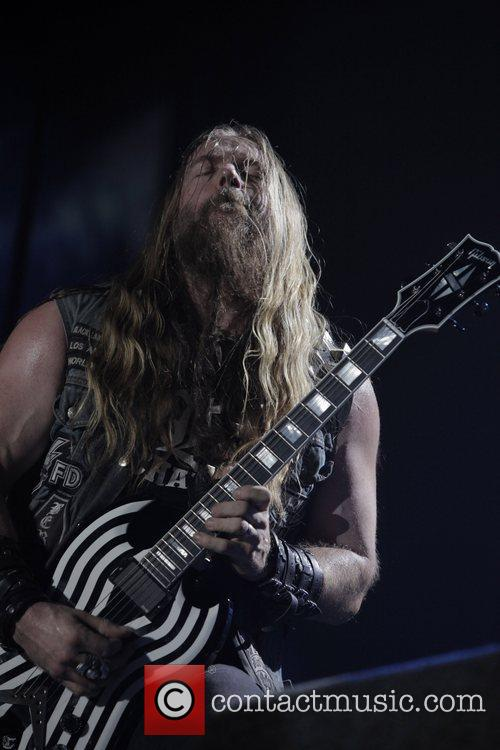 Zakk Wylde and Wembley Arena 10