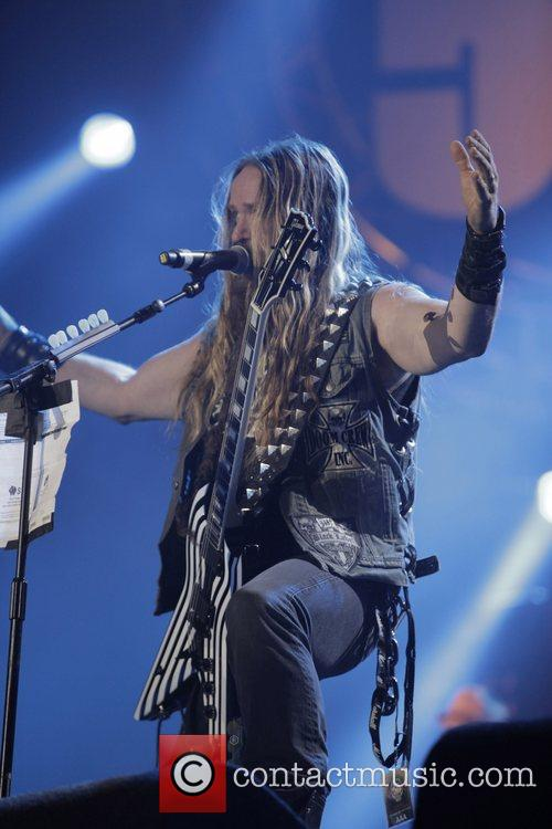 Zakk Wylde and Wembley Arena 3