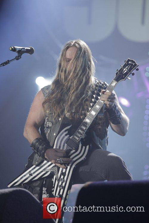 Zakk Wylde and Wembley Arena 1