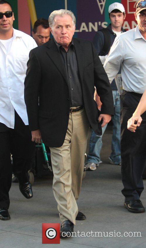 Martin Sheen arrives at The Grove for a...