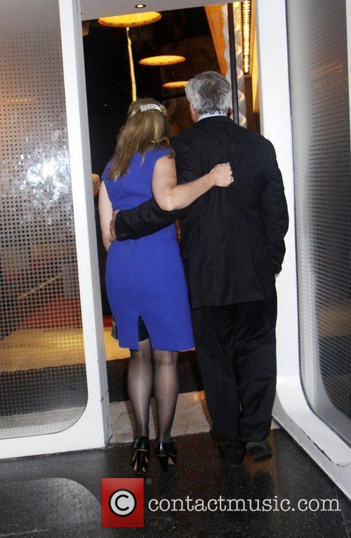 Kerry Kennedy and brother Max Kennedy Private Memorial...