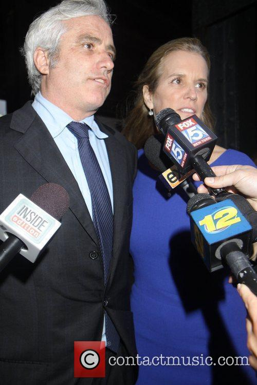Max Kennedy and sister Kerry Kennedy Private Memorial...