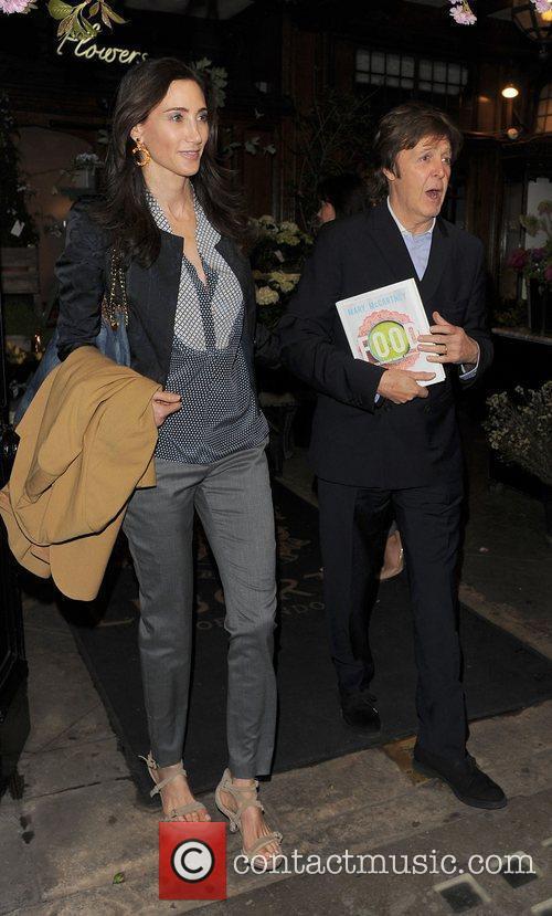 Sir Paul McCartney and NANCY SHEVELL 3