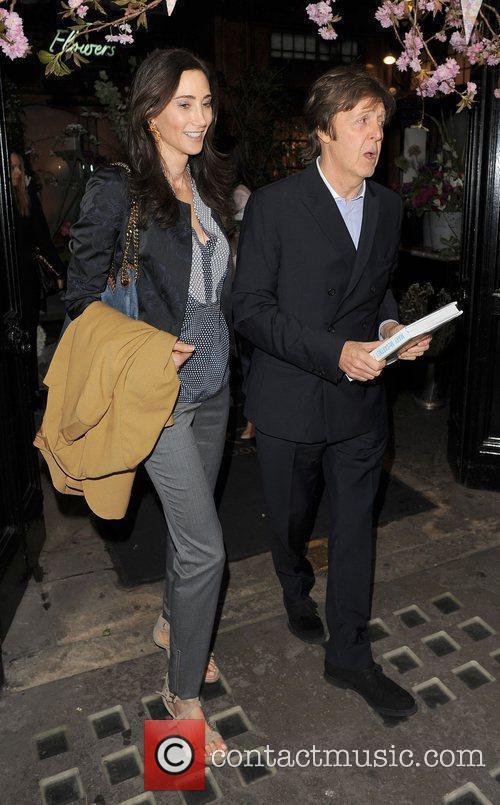 Sir Paul McCartney and NANCY SHEVELL 4