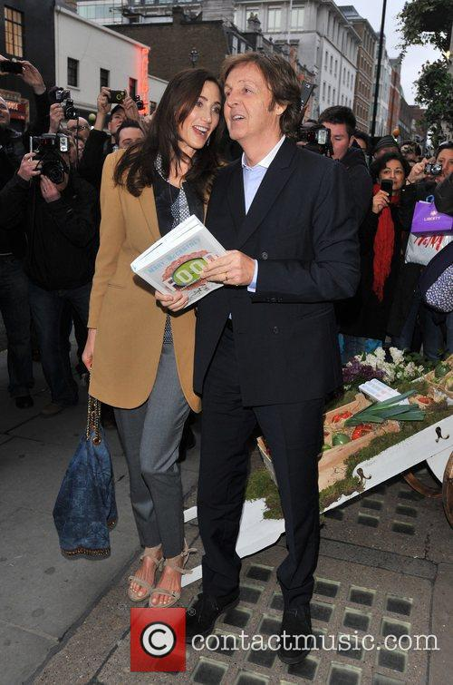 Sir Paul Mccartney and Nancy Shevell 7
