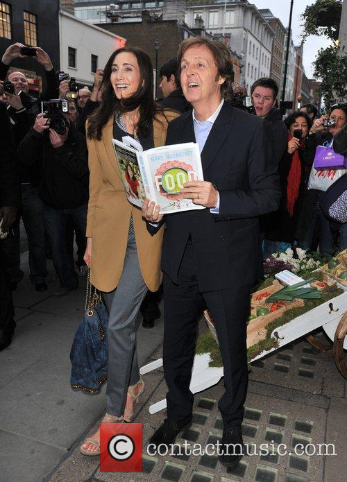 Sir Paul Mccartney and Nancy Shevell 11