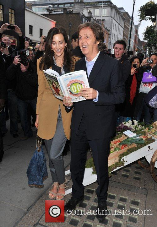 Sir Paul McCartney and NANCY SHEVELL 13