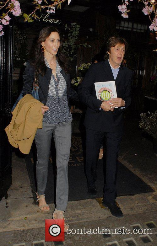 Nancy Shevell and Sir Paul Mccartney 2
