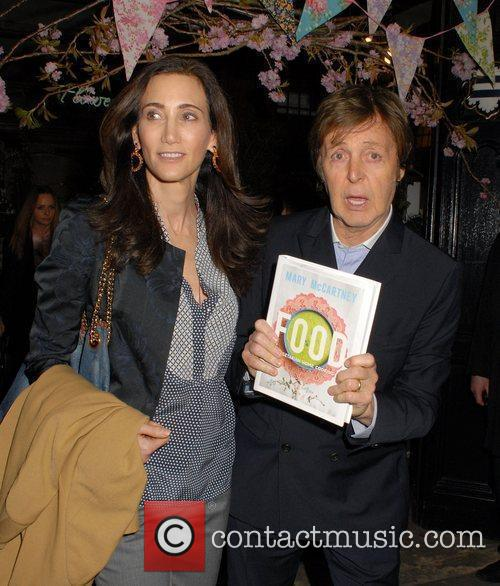 Nancy Shevell and Sir Paul Mccartney 4