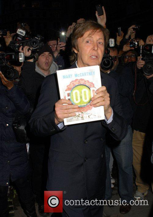 paul mccartney at the book launch party 3861372