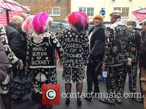 High Street guru Mary Portas seen doing the...