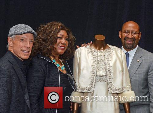 Famed DJ Jerry Blavet and Mary Wilson, Mayor...