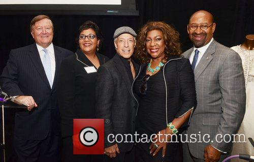 William Mills, President, Bank, Ramona Riscoe Benson, The African American Museum, Famed Dj Jerry, Blavet, Mary Wilson and Mayor Michael Nutter