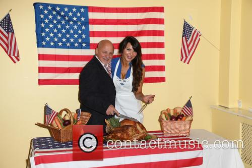 Aldo Zilli, Lizzie Cundy, American InterContinental University, London, Thanksgiving and Marylebone Project 12