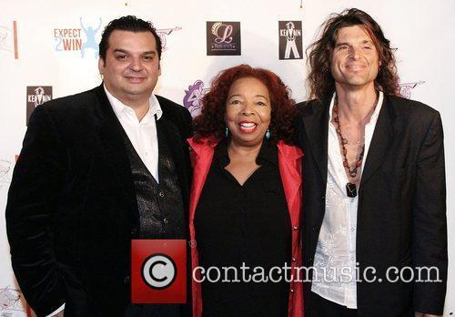 Mario Reyes, Brenda Lee Eager and Ced Leonardi,...