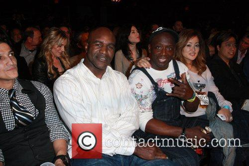 Evander Holyfield and Billy Blanks Los Angeles Matadors...