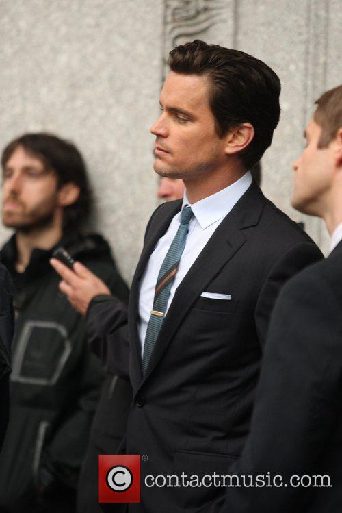 Seen dancing on the set of 'White Collar'