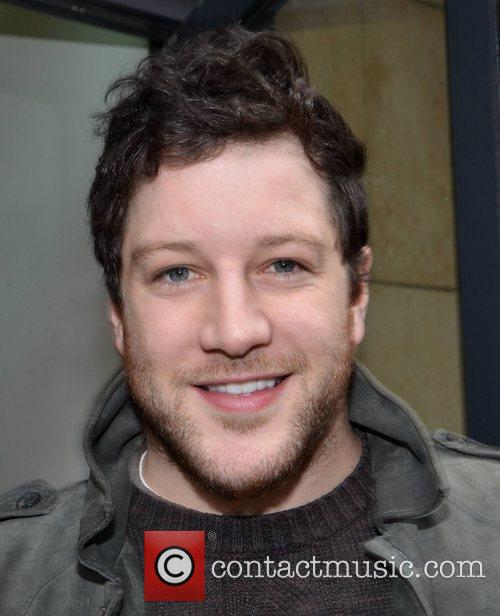 Matt Cardle at the Today FM studios for...