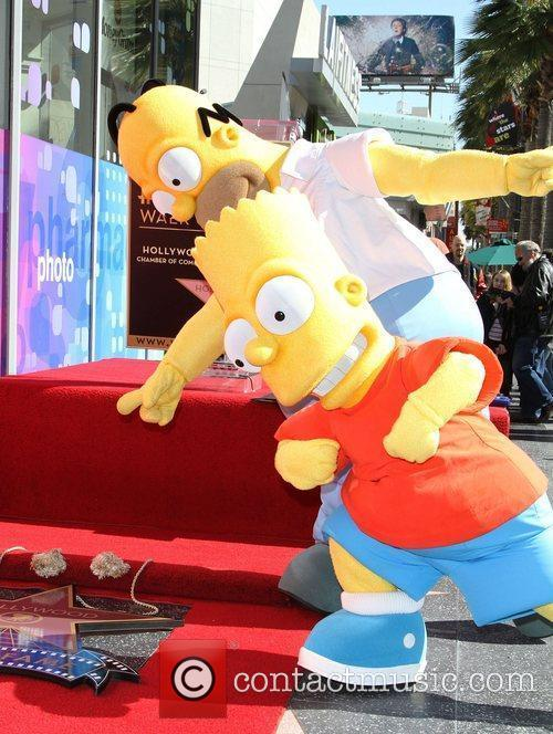 Atmosphere, Matt Groening and Star On The Hollywood Walk Of Fame 2
