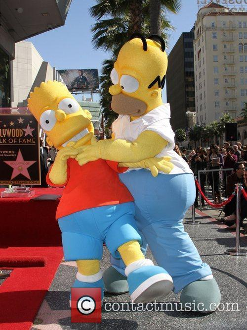 Atmosphere, Matt Groening and Star On The Hollywood Walk Of Fame 1