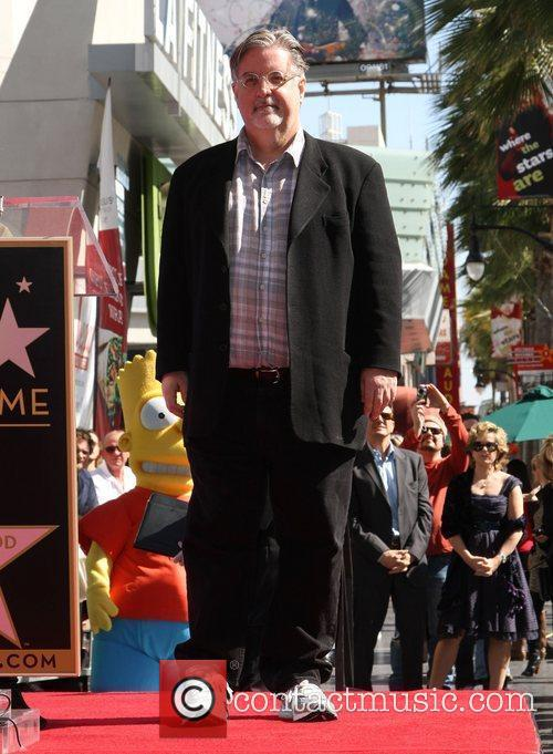 Matt Groening and Star On The Hollywood Walk Of Fame 12