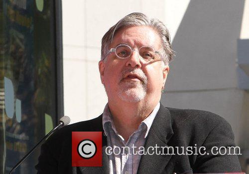 Matt Groening and Star On The Hollywood Walk Of Fame 15
