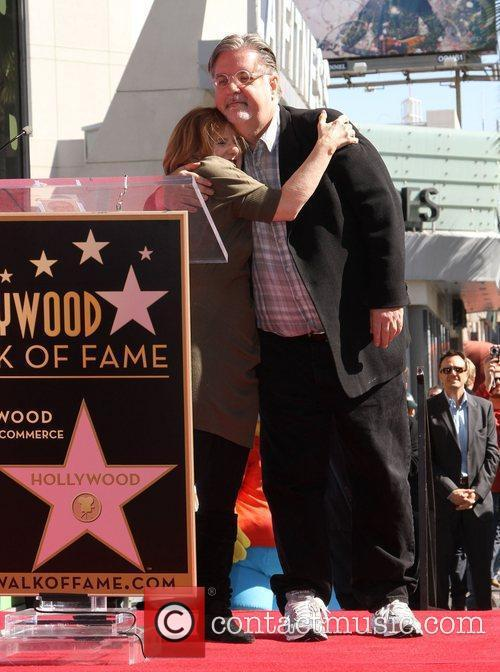 Nancy Cartwright, Matt Groening and Star On The Hollywood Walk Of Fame 9