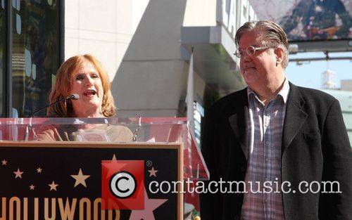 Nancy Cartwright, Matt Groening and Star On The Hollywood Walk Of Fame 10