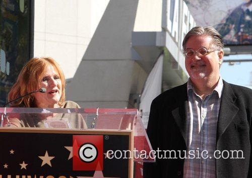 Nancy Cartwright, Matt Groening and Star On The Hollywood Walk Of Fame 11