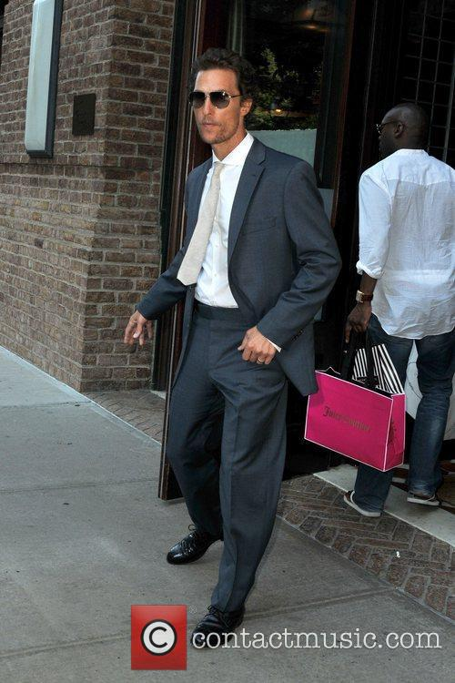 matthew mcconaughey seen out and about in 5883457