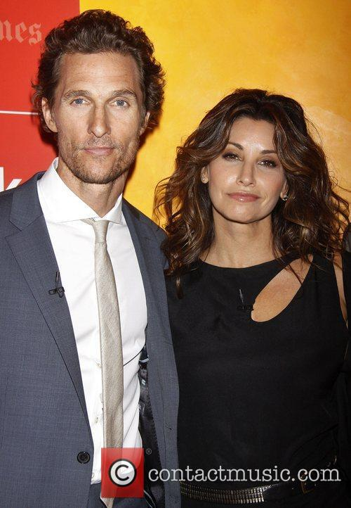 matthew mcconaughey and gina gershon at the 4005437