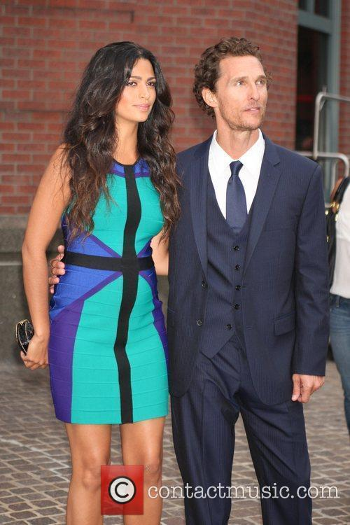 Matthew Mcconaughey and Camila Alves 4