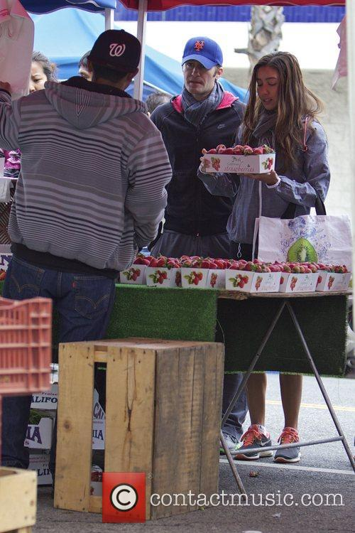 Glee, Matthew Morrison, Rene Puente and Farmers Market 24