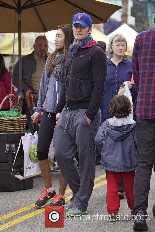 Glee, Matthew Morrison, Rene Puente and Farmers Market 26